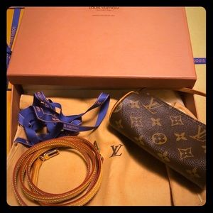 Louis Vuitton Mini Papillon & Crossbody Strap